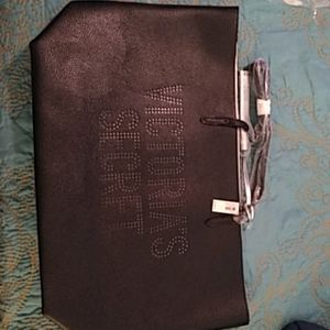 NWT Victoria Secret Black & Silver Tote Bag $18